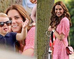 Gdy Meghan Markle z trudem trzymała synka, Kate z trójką dzieci była na zupełnym luzie! Triumf księżnej Cambridge?