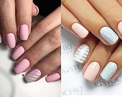 Krótkie paznokcie  - eleganckie wzory dla krótkich paznokci