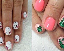 Najfajniejsze wzorki na krótkie paznokcie - 30 inspiracji, które Cię urzekną!