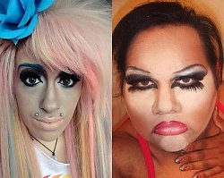 Najgorsze makijaże, które wołają o pomstę do nieba. To jest straszne! 15 makijażowych wpadek