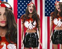 Małgorzata Godlewska zaśpiewała hymn USA! Esmeralda komentuje krótko: Ja pier****