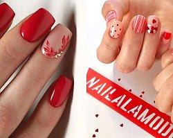 Czerwone paznokcie - modny manicure w 20 wydaniach
