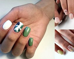 Manicure dla krótkich paznokci - galeria najnowszych stylizacji z sieci