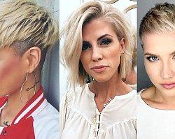 Fryzury krótkie dla blondynek - przegląd nowoczesnych cięć 2019/2020