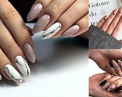 Nude manicure - 25 stylowych i nowoczesnych zdobień