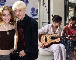 Hermiona Granger i Draco Malfoy parą? To, co nie udałoby się w świecie czarodziejów, w realu zapewne jest już FAKTEM!