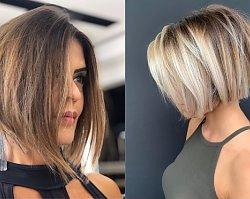 Modne fryzury BOB dla włosów do ramion. LONG i MID BOB - musicie wypróbować te cięcia!