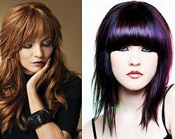 Fryzury z grzywką - najciekawsze inspiracje na modne fryzury