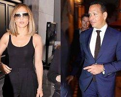 Jennifer Lopez poszła z mężem na kolację. On w garniturze, ona w czerni, ale zobaczcie tylko te BUTY!