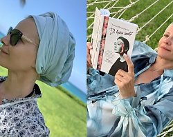 Małgorzata Kożuchowska zachęca do czytania, ale fani wpatrują się w jej twarz bez grama makijażu! Co takiego dostrzegli?