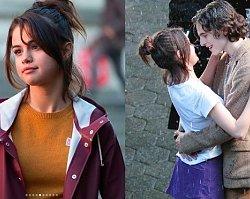 Na planie u Woody'ego Allena 27-letnia Selena Gomez wygląda jak dziewczynka!