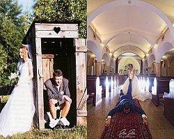 Najbardziej  zadziwiające sesje ślubne - te pary nie mogą narzekać na nudne zdjęcia. Nasz hit to nr 14!