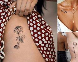 Tatuaże dla kobiet - aż 30 wzorów, jakich jeszcze nie widziałaś!