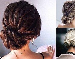 Galeria pięknych i gustownych koków - fryzjerskie trendy 2019/2020