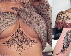 Galeria kobiecego tatuażu - oryginalne wzory, które nigdy nie wyjdą z mody!