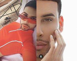 Ten makijażysta usunął sobie żebra, by wyglądać jak Kim Kardashian. Nosi też taką samą bieliznę!