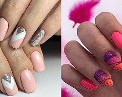 Różowe paznokcie - TOP 20 modnych stylizacji