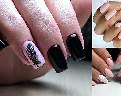 Manicure z piórkiem - galeria modnych stylizacji