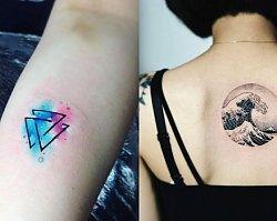 Tatuaże geometryczne - aż 19 wyjątkowych wzorów tatuaży