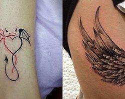 Tatuaż anioł - 20 tatuaży z motywem anioła [GALERIA]