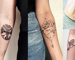 Geometryczne tatuaże - galeria pięknych wzorów