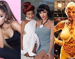 Przebrania zagranicznych gwiazd na Halloween 2019 to sztos! Kim Kardashian jako Betty z Flinstonów, ale najbardziej ZBRZYDŁA Ariana Grande!