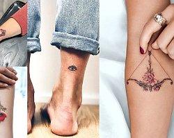 Małe tatuaże dla kobiet - 35 przepięknych wzorów