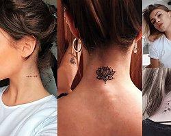 Tatuaż w okolicy szyi - 16 najpiękniejszych wzorów z sieci
