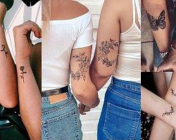 Tatuaże dla przyjaciółek - 25 najlepszych propozycji z sieci