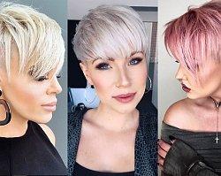 Krótkie cięcie damskie – przegląd modnych fryzur pixie i undercut