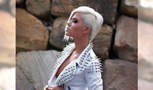 Krótkie fryzury do okrągłej twarzy - katalog 2014
