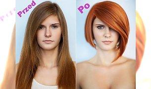 Spektakularne metamorfozy - fryzury przed i po