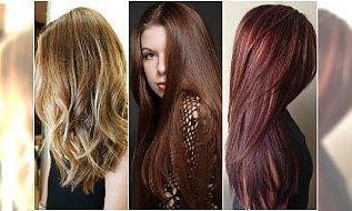 Modne kolory włosów 2015. TOP 15 najlepszych odcieni