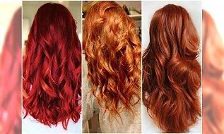 Modne kolory włosów - najlepsze odcienie rudości