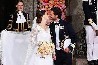 Gdy królewna wychodzi za księcia – najpiękniejsze suknie ślubne z dworów królewskich