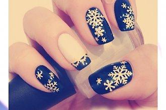 50 pomysłów na zimowy manicure!