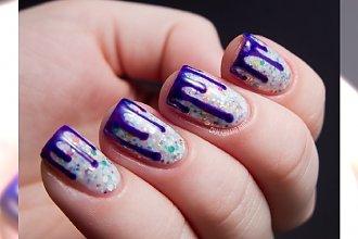 UWAGA TREND: Drip nails art