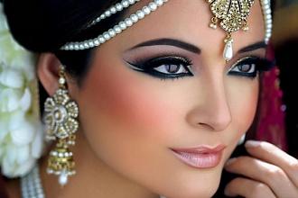 Makijaż w stylu Bollywood