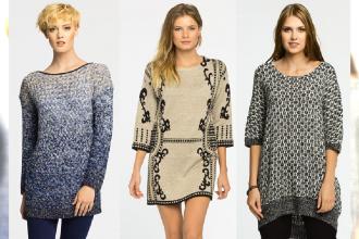 Wybieramy najlepsze długie swetry na zimę 2015
