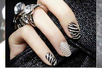 Manicure na sylwestra. TOP 20 modnych wzorków na paznokcie
