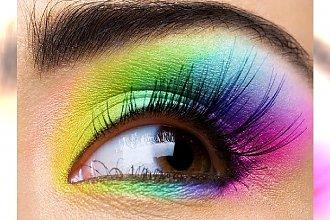 Oczy w kolorach tęczy!