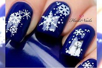 Manicure inspirowany zimą. Te wzorki was urzekną!