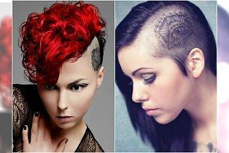 Tatuaż we włosach. TOP 20 najlepszych wzorów