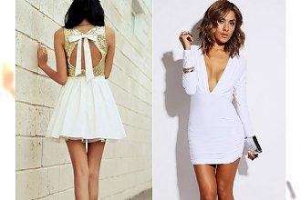 Biała sukienka na Sylwestra?