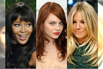 Cieniowane fryzury z długich włosów. Śliczne i ultrakobiece!