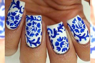Porcelanowy manicure. Paznokcie jak filiżanki!