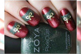 Pomysłowy manicure na święta! Paznokcie z bożonarodzeniowymi motywami