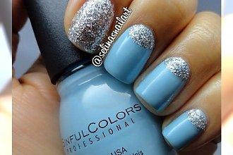 Baby blue nails - pastelowy manicure dla delikatnych kobiet