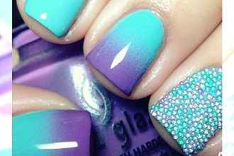 Ombre nails - najlepsze pomysły na kolorowy manicure