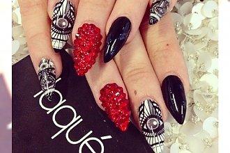 Stiletto nails, czyli manicure dla kobiet z prawdziwym pazurem!